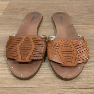 Size 8 Jcrew Hurache Style Slides